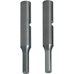 精密級超硬キー溝・エア穴付パンチ ノーマル・ラップ仕上げ