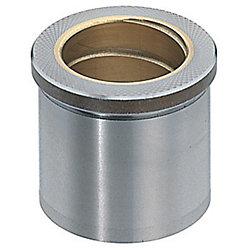 ストリッパガイドブシュ -精密級・給油・銅合金・ロックタイト接着・ヘッド付タイプ-