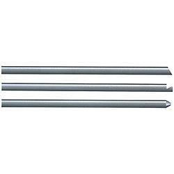 先端加工ストレートエジェクタピン -ダイス鋼SKD61+窒化処理/軸径・全長指定タイプ-