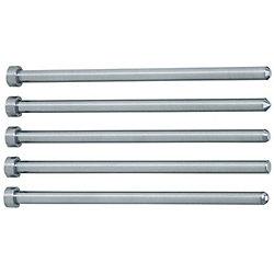 先端加工ストレートセンターピン -ハイス鋼SKH51/軸径(P)0.01㎜指定タイプ-