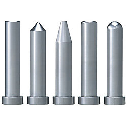 Straight Core Pins With Tip Processed -Shaft Diameter (D) Selection Type-