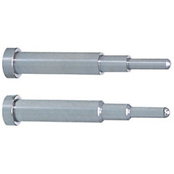 Precision Taperless Two-Step Core Pins -Shaft Diameter (D) Selection/Shaft Diameter Tolerance 0_-0.005/A Tolerance 0_-0.005 Type-