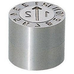 金型デートマークセット(プレート側交換タイプ)