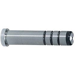 精級ガイドピン -ヘッド付油溝付/圧入部長さ指定タイプ,圧入部径・長さ指定タイプ-