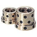 Oil-Free Leader Bushings For High Temperature Use-Head Type/Special Copper Alloy-