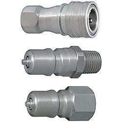 ダブルバルブ 冷却用SPカプラ -ステンレスソケット・プラグ-