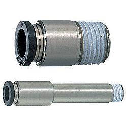 金型冷却用ワンタッチ継手 -一般用(60℃シリーズ)/ストレート継手/6角レンチ取付用-