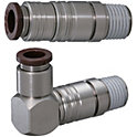 Quick-Fitting Joints For Mold Cooling -Separate Plugs・Sockets/(Heat-Resistant 120degree Series)/Sets-