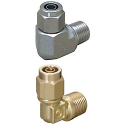 金型冷却用締付継手 -高温用(120℃シリーズ)/L形継手-