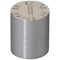 凸文字タイプ金型デートマークセット(PL面交換タイプ)