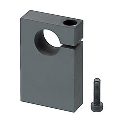 シャフトホルダ -ボトムマウント型(機械加工品) 側方スリットタイプ-