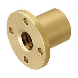 30度台形ねじ用ナット RoHS対応品 フランジ付 / 細ピッチ タイプ