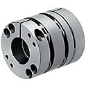 Couplings/High Rigidity Disc/O.D. 87mm/Keyway/Clamping