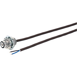 耐熱仕様位置決めスイッチ ストッパ付ミニタイプ