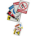 Caution/Warning/Danger Mark Stickers [10 Pieces Per Package]