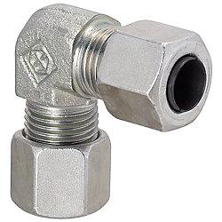 油圧配管用くい込み継手 エルボ