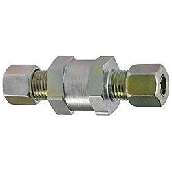 油圧配管用くい込み継手 逆流防止ユニオン