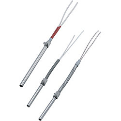 Cartridge Heaters-Lead Wire Protection Type with Knurled