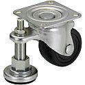 Geräterollen mit Justageelementen/Für schwere Lasten/integrierte Ausführung