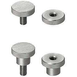 Knurled Knobs/Small Diameter
