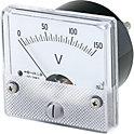 アナログメータ(交流電圧計・交流電流計)