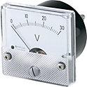 アナログメータ(直流電圧計・直流電流計)