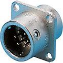 PRC03 フランジ型パネル取付レセプタクル(ワンタッチロック)