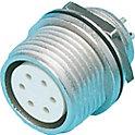 R04 防水 バルクヘッド型パネル取付レセプタクル(ネジ式)