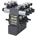 油圧ソレノイドバルブD1VW マニホールドセット