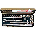 Socket Wrench Set (Bihexagonal) 1215A