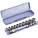 Impact Socket Set (With Metal Tray) NV4132