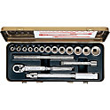 Socket Wrench Set (Bihexagonal) 1213A