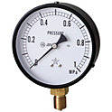 一般蒸気用圧力計(A枠立型・φ100)