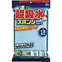 Superabsorbent sponge block