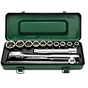 Socket Wrench Set (Hex Type, 12.7 mm Insertion Angle)