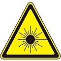 レーザ警告ラベル    レーザ-A(大)