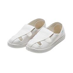 防靜電防塵工作鞋 白色四孔鞋