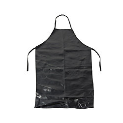 黑色合成皮圍裙