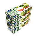 BOXポリ袋200Pエンボス加工  3個パック