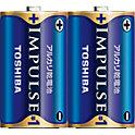 東芝 アルカリ乾電池 IMPULSE
