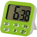 オーム電機 時計付き大画面 デジタルタイマー