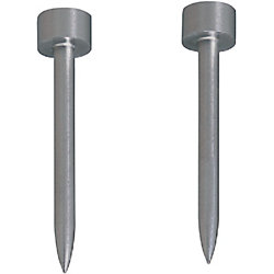 Straight Pilot Punches for Fixing to Stripper Plates Tip R and Taper Combined type, Minus Head tolerance, Normal, Lapping, TiCN Coating