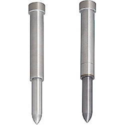 Pilot Punches Movable Type Headed Type, Normal, Lapping, Tip R and Taper Combined Type
