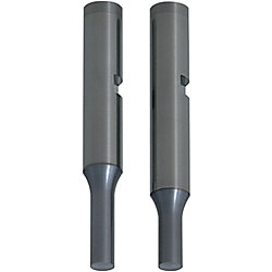 Carbide Punches with Key Grooves  TiCN Coating