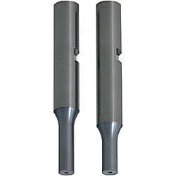 Carbide Punches with Key Grooves, Air Holes