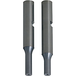 Carbide Punches with Key Grooves, Air Holes  Minus D tolerance