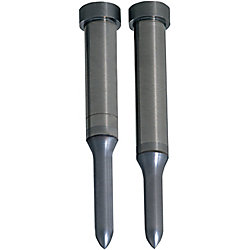 Carbide Pilot Punches -Tip R Type- TiCN Coating