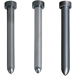 Carbide Straight Pilot Punches -Tip R Type- Normal, Lapping, TiCN Coating