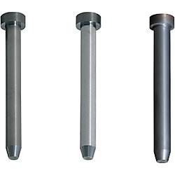 Carbide Straight Pilot Punches -Tapered Tip Type- Normal, Lapping, TiCN Coating