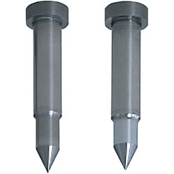 Carbide Pilot Punches for Fixing to Stripper Plates  -Sharp Tip Angle Type- Normal, Lapping